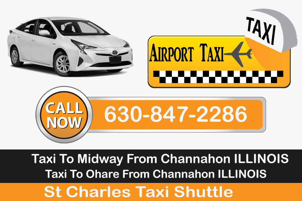 Taxi To/From O'Hare Airport To Channahon ☎ 630-847-2286